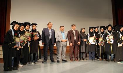 مراسم دانش آموختگي دانشجويان پرستاري و مامايي